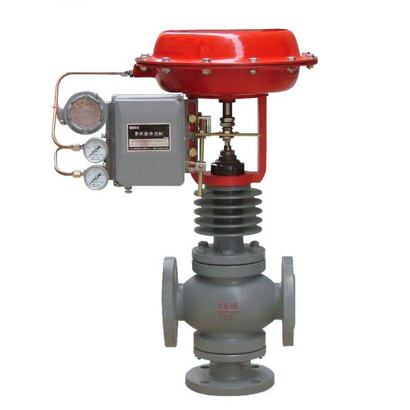 调节阀广泛应用于精确控制气体图片